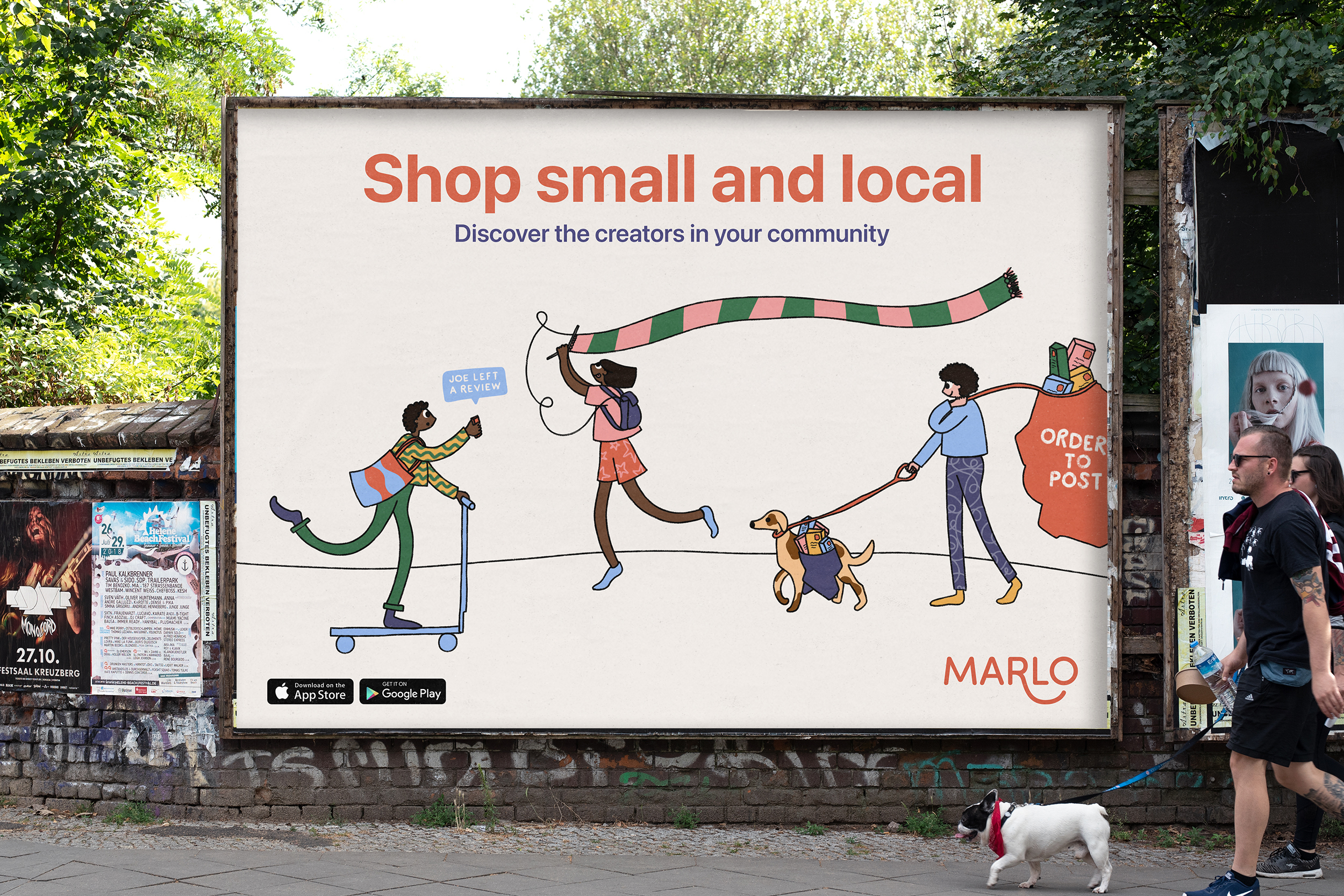 Marlo billboard