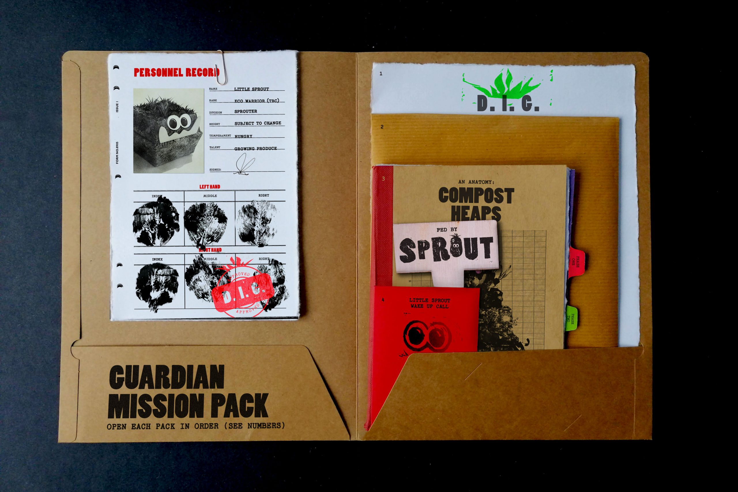 Collection of Sprout components