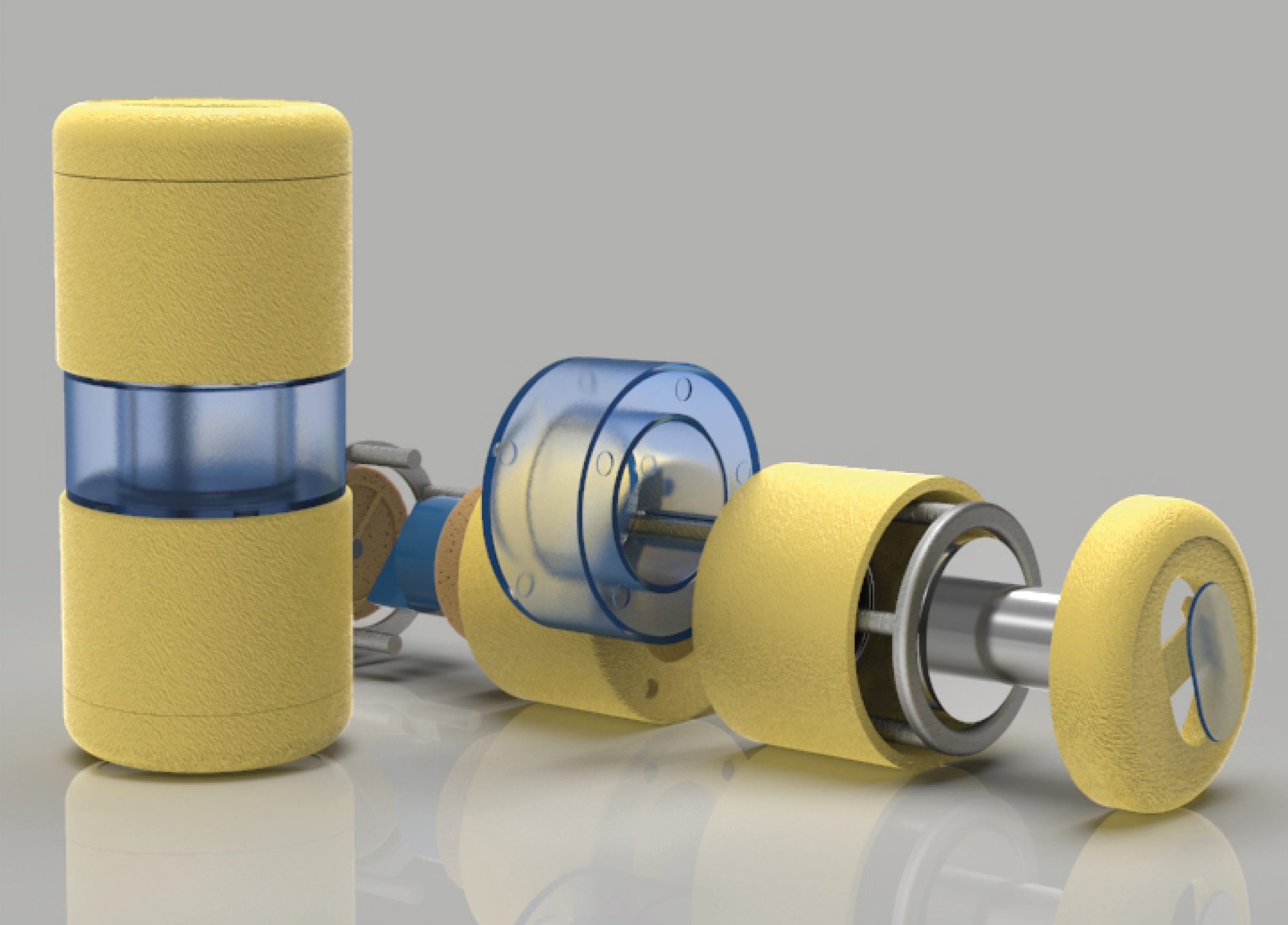 A product for testing bacteria contaminants in water,